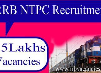 Indian Railways Non-Technical Recruitment