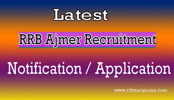RRB Ajmer ALP Recruitment