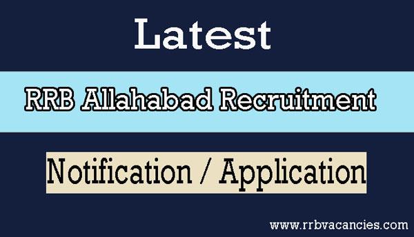 RRB Allahabad ALP Recruitment