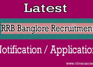 RRB Banglore ALP Recruitment