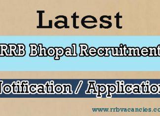 RRB Bhopal ALP Recruitment