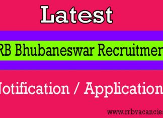 RRB Bhubaneswar ALP Recruitment