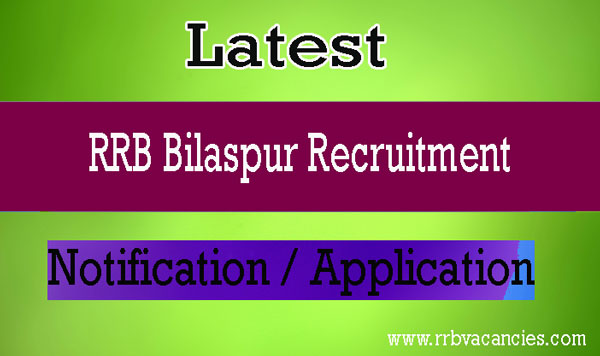 RRB Bilaspur ALP Recruitment
