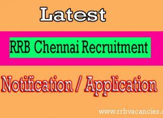 RRB Chennai ALP Recruitment