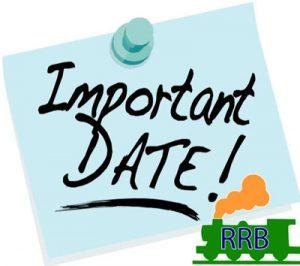 RRB Exam Schedule