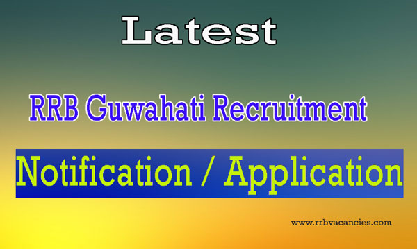 RRB Guwahati ALP Recruitment