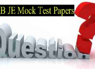 RRB JE Stage 2 Mock Test