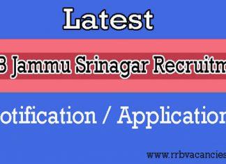 RRB Jammu Srinagar ALP Recruitment