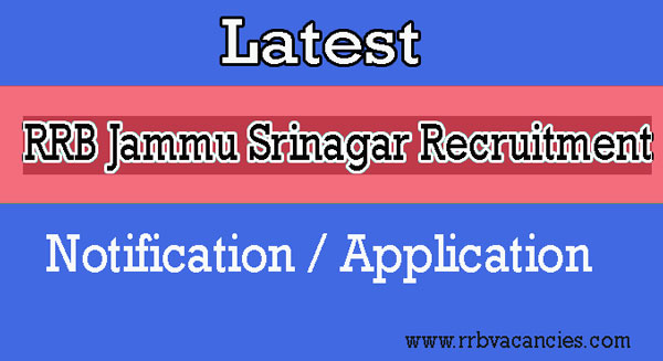 RRB Jammu Srinagar ALP Recruitment