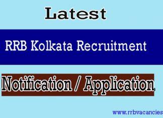 RRB Kolkata ALP Recruitment