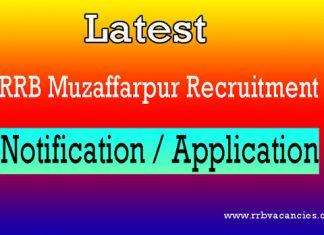 RRB Muzaffarpur ALP Recruitment