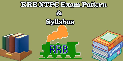 RRB NTPC Exam Pattern