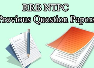 RRB NTPC Previous Year Question Papers