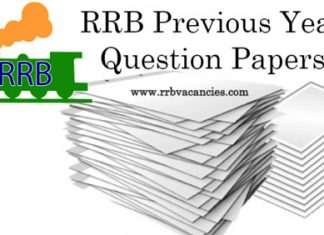 RRB Previous Years Question Papers