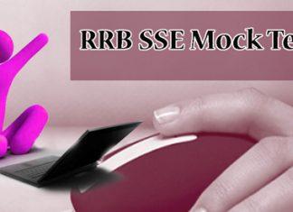 RRB SSE Stage 2 Mock Test
