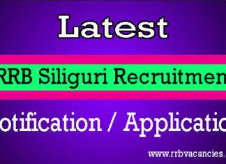 RRB Siliguri ALP Recruitment