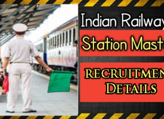 RRB Station Master Recruitment