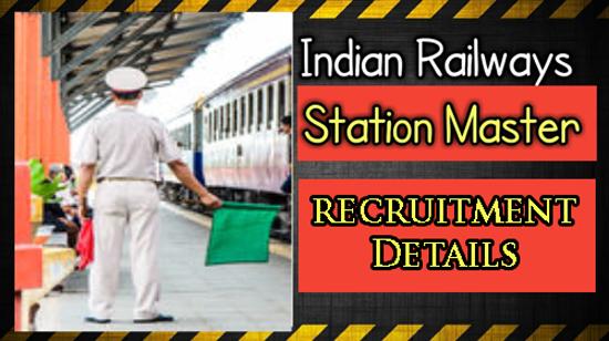 RRB Station Master Recruitment