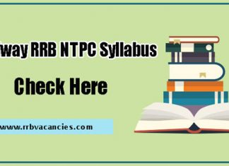 Railway RRB NTPC 2nd Stage Mains Syllabus