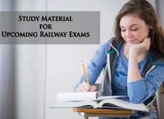 Study Material for Upcoming Railway Exams
