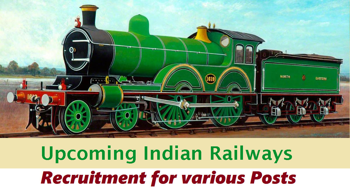 Upcoming Railway RRB Recruitment
