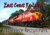 East Coast Railway Apprentice Recruitment