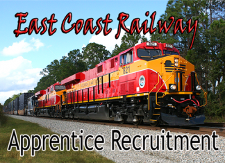 East Coast Railway Apprentice Recruitment