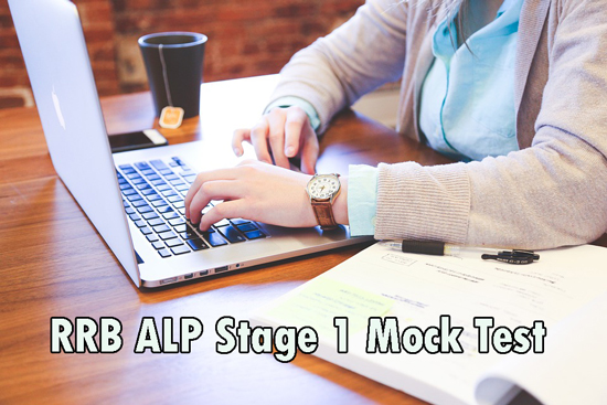 RRB ALP Stage 1 Mock Test
