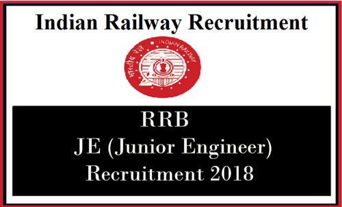 RRB JE Recruitment