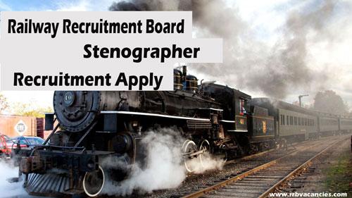 RRB Stenographer Recruitment