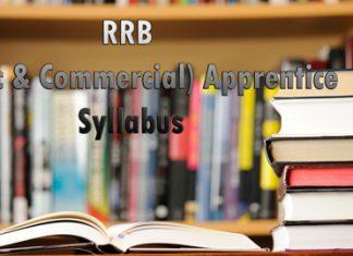 RRB Traffic Apprentice Syllabus
