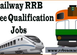 Railway RRB Degree Qualification Jobs