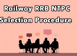 Railway RRB NTPC Selection Process