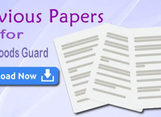 RRB Goods Guard Previous Question Papers