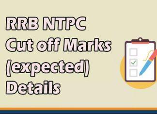 RRB NTPC Cut off Marks