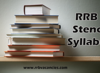 RRB Stenographer Syllabus