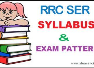RRC SER Apprentice Syllabus