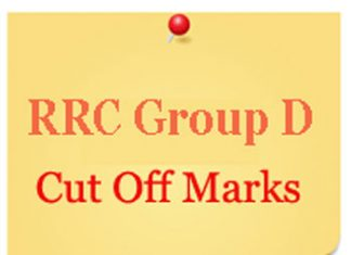 Cut Off Marks List for Group D Railway Exams
