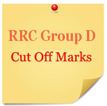 Cut Off Marks List for Group D Railway Exams