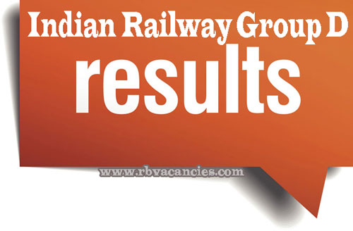 Indian Railway Group D Results