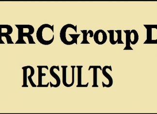 RRC Group D Results