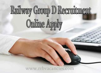 Railway Group D Online Apply