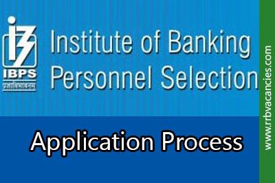 ibps rrb application process