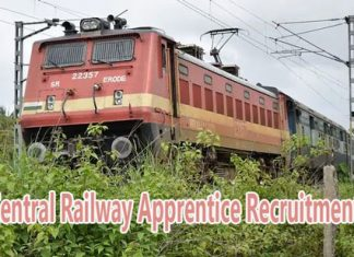 Central Railway Apprentice Recruitment