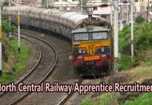 North Central Railway Apprentice Recruitment