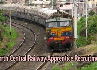 North Central Railway Apprentice Recruitment