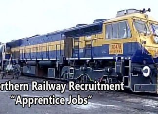 Northern Railway Apprentices Recruitment
