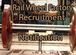 Rail Wheel Factory Recruitment Notification