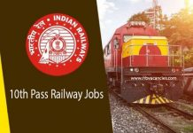 10th Pass Railway Jobs