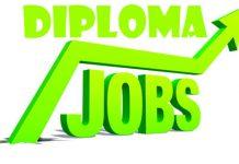 Diploma Govt Jobs 2019
